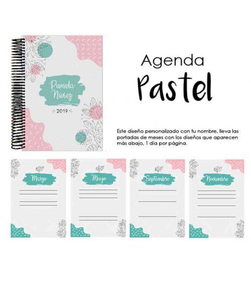 Agenda Pastel